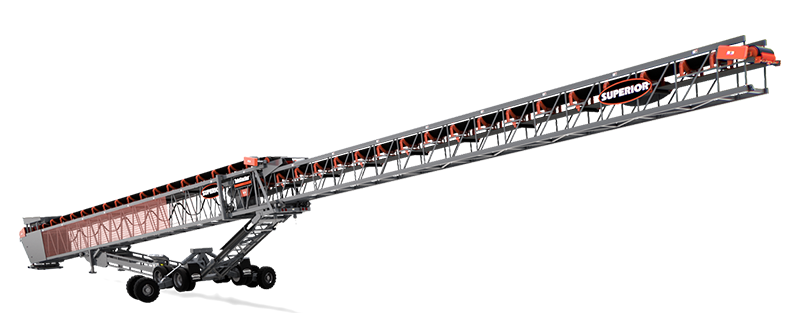 TeleStacker Conveyor by Superior Industries