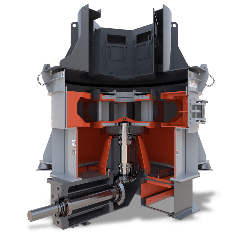 Valor Vertical Shaft Impactor (VSI) Gear-Drive Model