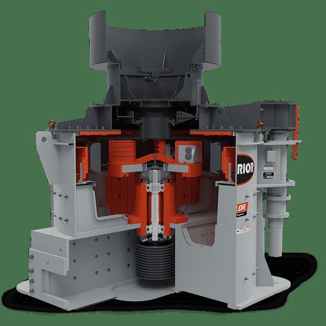 Valor Vertical Shaft Impactor (VSI) Dual Belt-Drive Model   Superior Industries