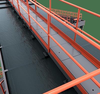 Valve Bridge on Classifying Tank | Superior Industries