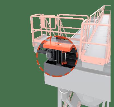 Recirculating Pump on Classifying Tank | Superior Industries