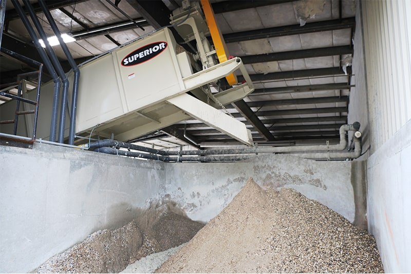 Concrete Washout System by Superior Industries