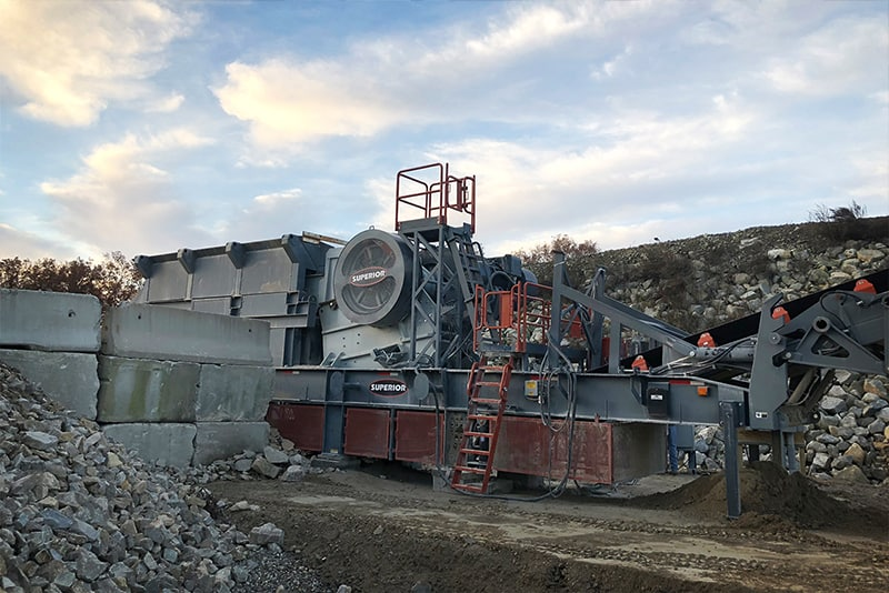 Liberty Jaw Crusher In Application | Superior Industries