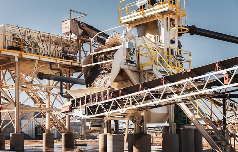 Spirit Sand Plant - Phoenix, AZ   Superior Industries