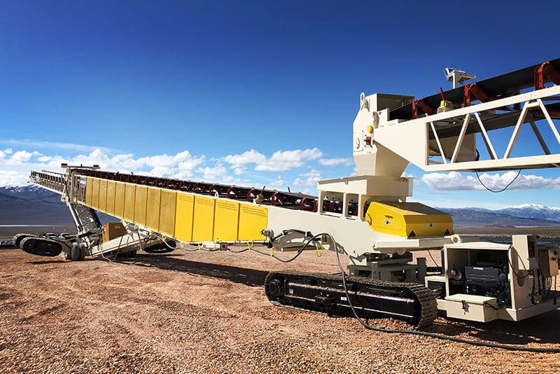 Conveying TeleStacker - mobility enhancements - 01 by Superior Industries