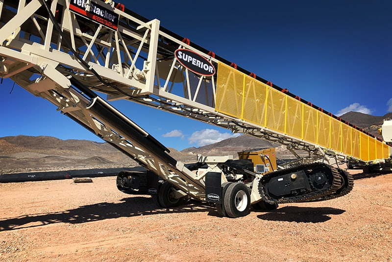 Conveying TeleStacker - mobility enhancements - 02 by Superior Industries