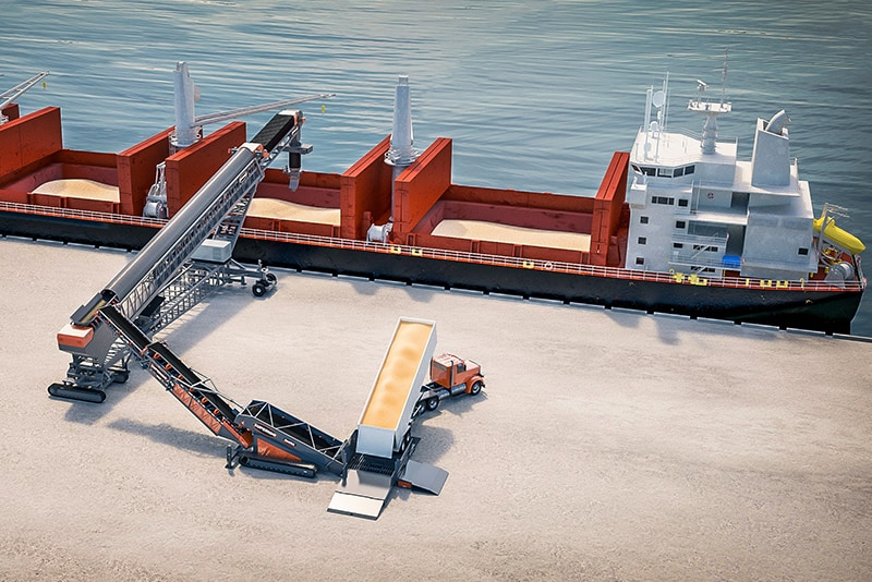 Conveying - barge loading - 03 by Superior Industries