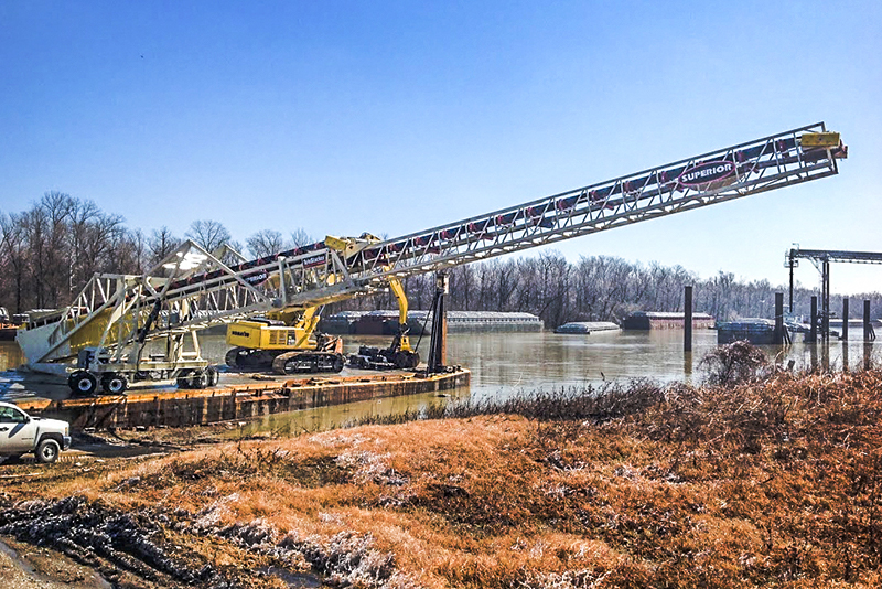 Conveying - barge loading - 07 by Superior Industries