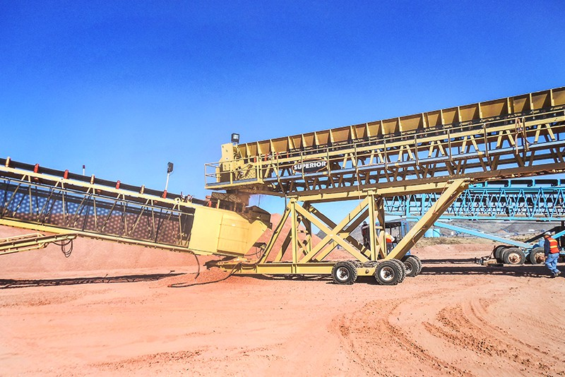 Conveying - heap leach - 05 by Superior Industries