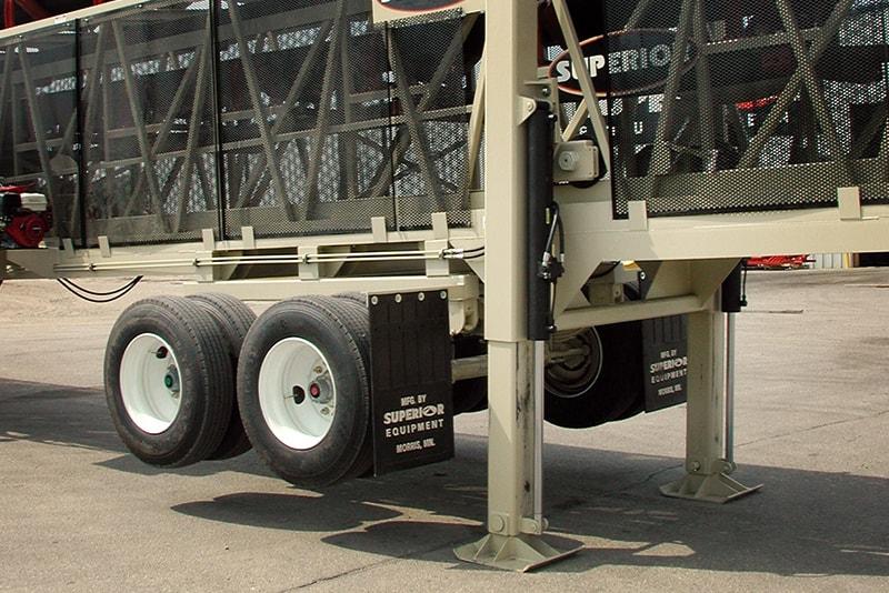 Hydraulic Landing Legs | Superior Industries