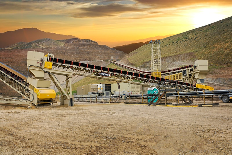 Sunset photo of In-Plant Conveyor | Superior Industries