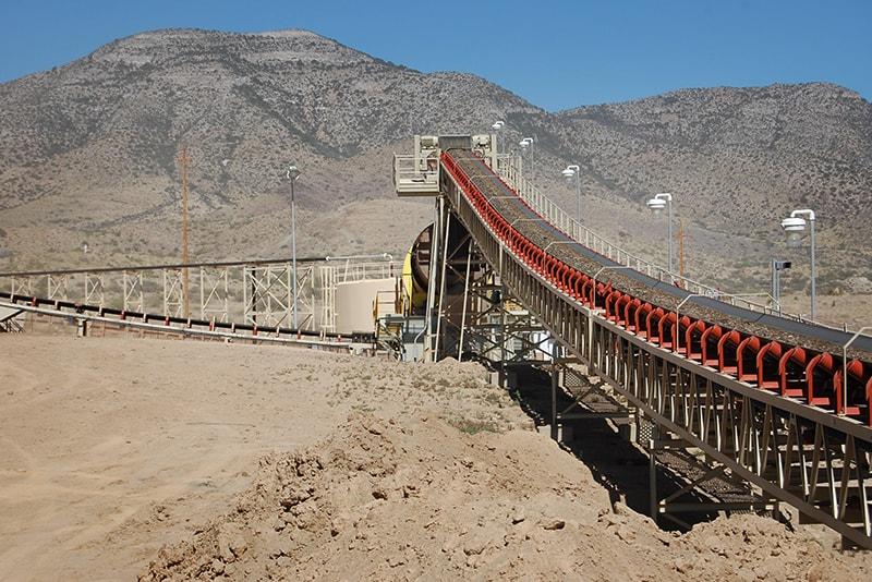 Elevated Groundline Conveyor | Superior Industries