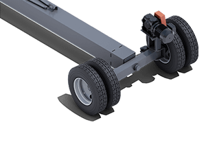 Fixed Width Pit Portable Axle Style   Pinnacle Conveyor Axle Style
