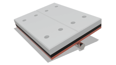 Sealing System 10 Inch Cartridge conveyor component by Superior Industries
