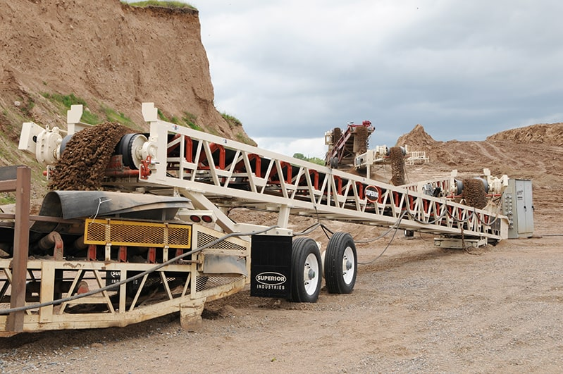Slide-Pac™ Conveyor in application by Superior Industries