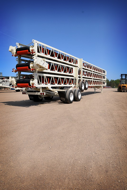 Slide-Pac Conveyor Ready to Transport | Superior Industries