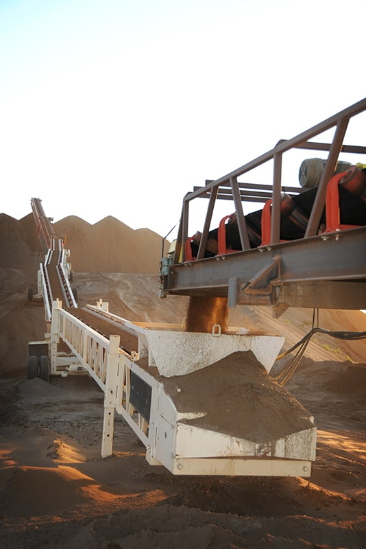 Slide-Pac Conveyor in use | Superior Industries