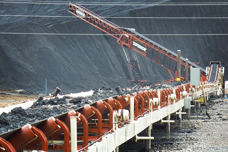 Trailblazer® Conveyor in application by Superior Industries