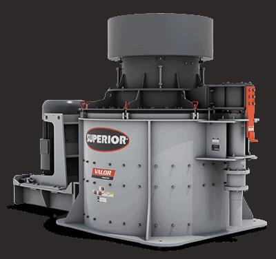 Valor® VSI (Vertical Shaft Impactor)   Superior Industries