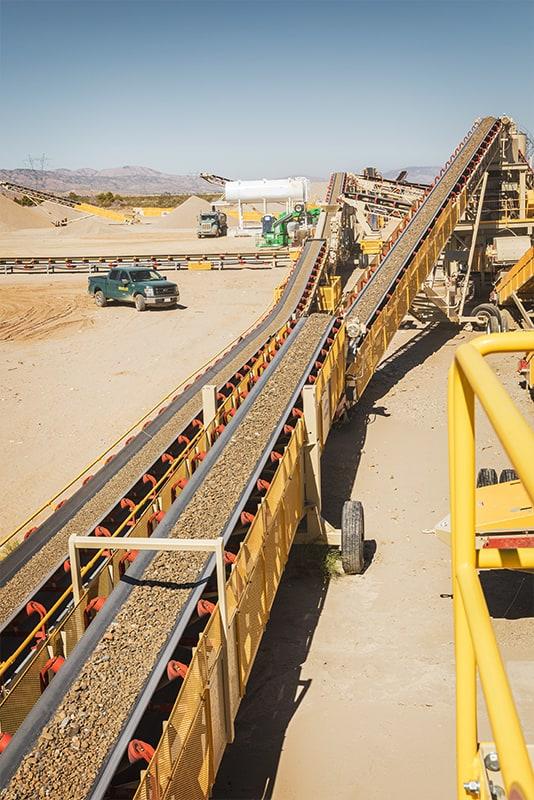 Zipline® Overland Conveyor at Big Rock Quarry   Superior Industries
