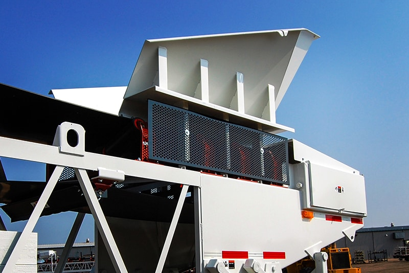 Radial Receiving Hopper   Superior Industries