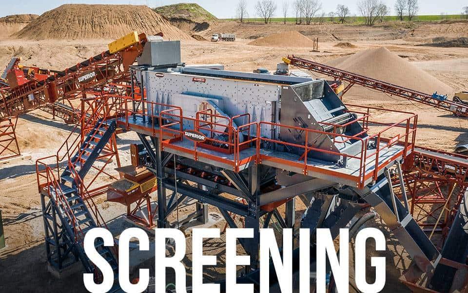 Fusion Modular Platform - Screening applications | Superior Industries