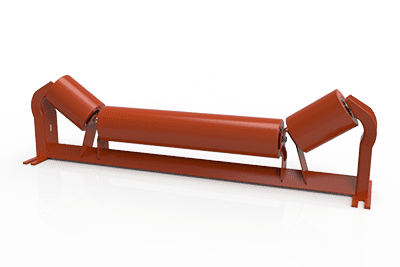 Rubber Unequal Troughing Idlers | Superior Industries