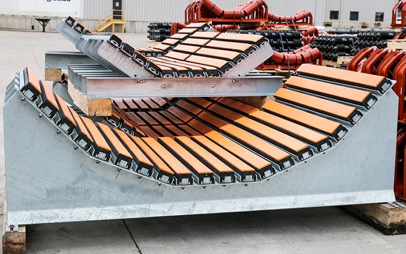 Bancada de impacto | Componentes da esteira transportadora Superior Industries
