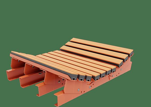 Bancada de impacto | Componentes da esteira transportadora | Superior Industries