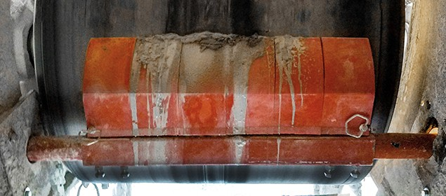 Mine Duty Primary Belt Scraper | Exterra® Mine Duty Primary Belt Cleaner | Superior Industries