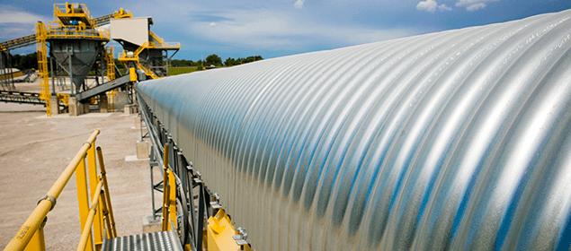 Conveyor Belt Covers   Conveyor Accessories   Superior Industries