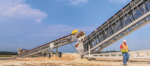 Jump Conveyor | Grasshopper Conveyor | Superior Industries