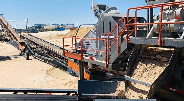Portable Washing Plants   Superior Industries