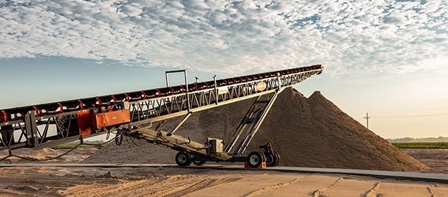 PowerStacker Conveyor- Lyman Richie 2019 | Stockpiling Conveyor | Superior Industries