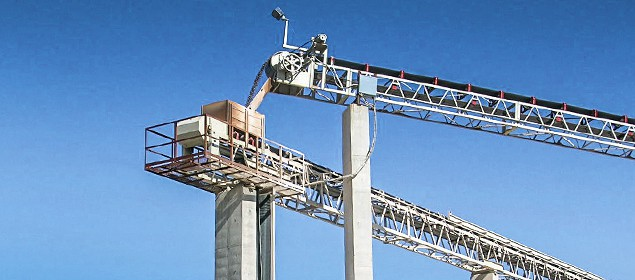 LP- Tripper Conveyor - stockpiling