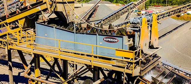 Blade Mill Washer | Scrubbing Equipment | Superior Industries
