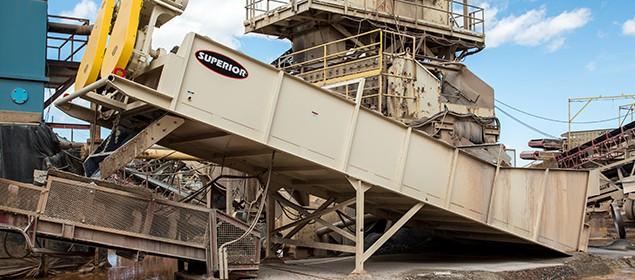 Coarse Material Washer | Scrubbing Equipment | Superior Industries