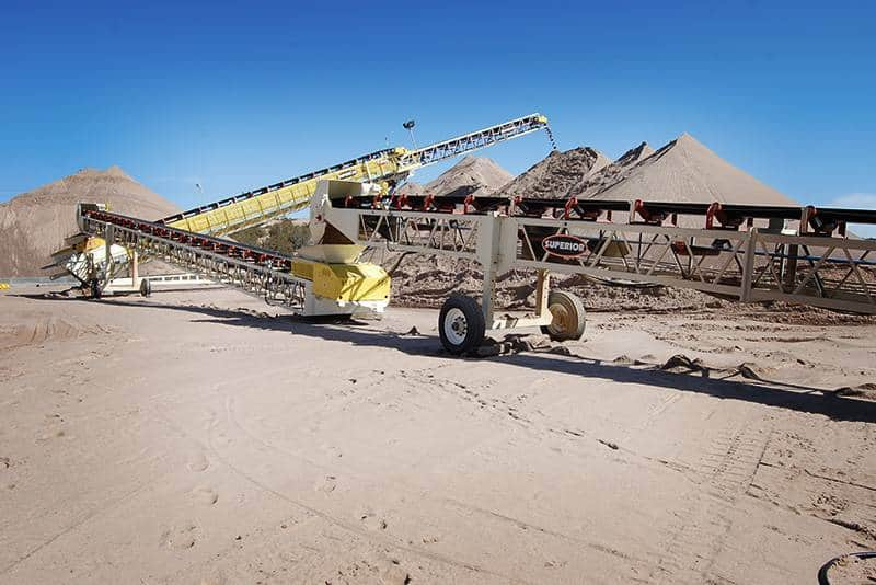 Frac Sand Production | Preferred Sands | Superior Industries