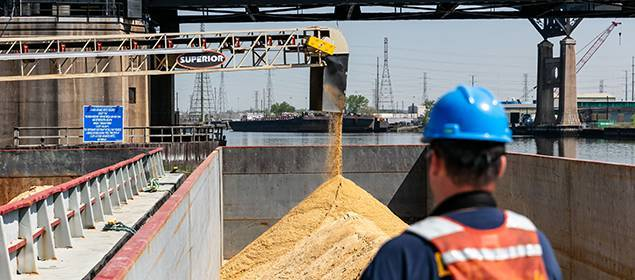 Ship or Barge Loading Conveyors   Superior Industries