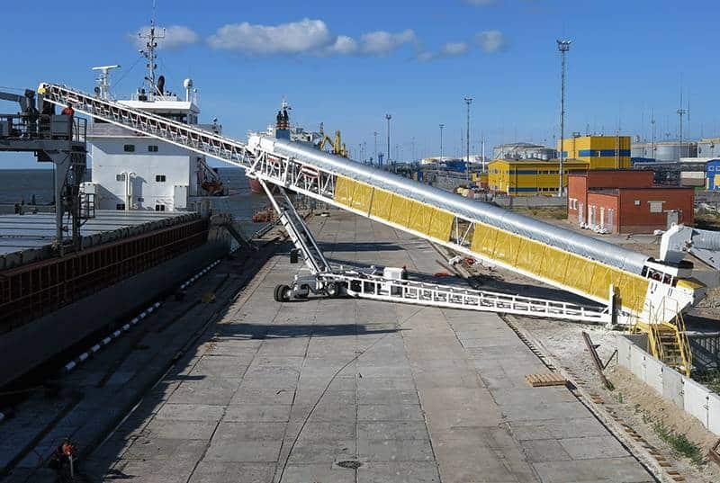 Ocean Terminals - Port of Ust-Luga (Russia)