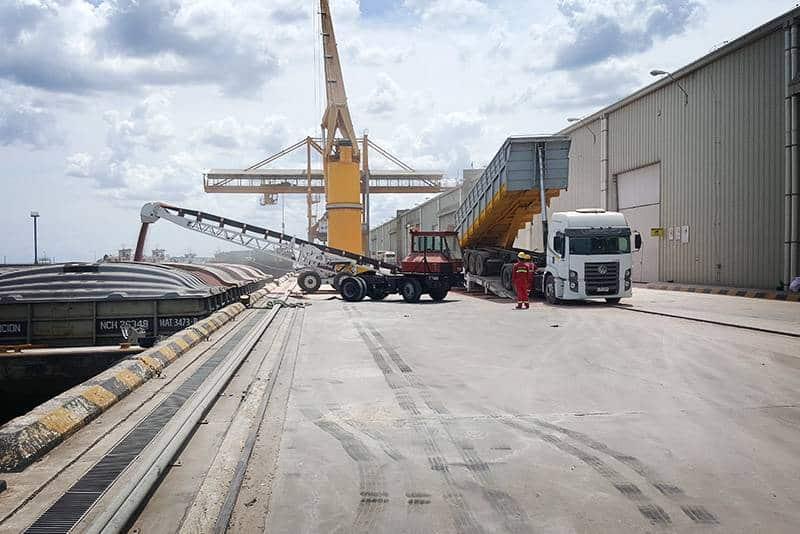 river terminals 01 Port of Nueva Palmir - Colonia, Urguaya