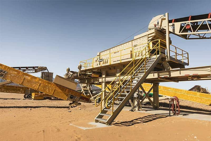 CM site Granite Construction CA 12 by Superior Industries