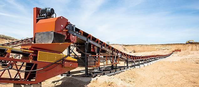 Zipline Conveyor   Overland Conveyors   Superior Industries